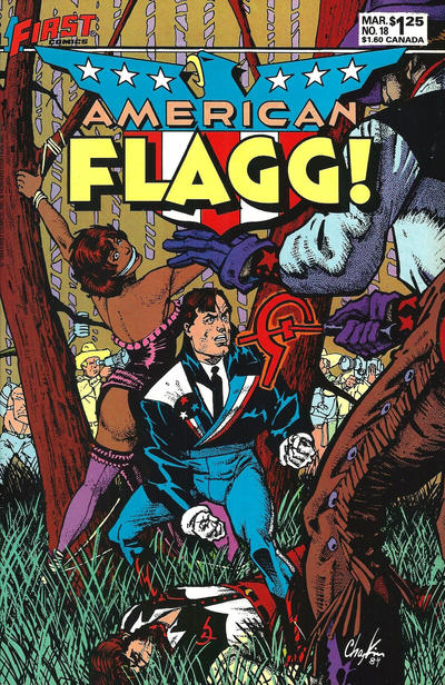 Cover for American Flagg! (First, 1983 series) #18