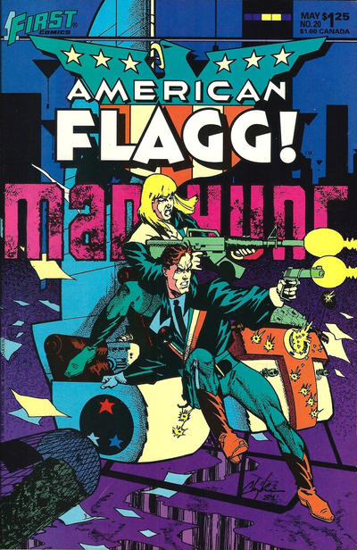 Cover for American Flagg! (First, 1983 series) #20