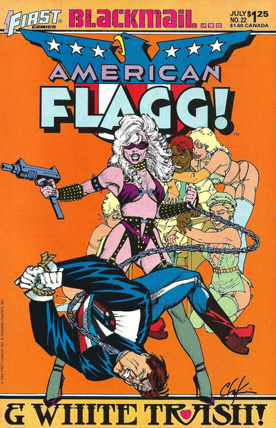 Cover for American Flagg! (First, 1983 series) #22