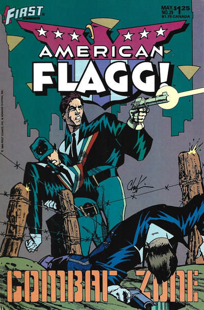 Cover for American Flagg! (First, 1983 series) #29