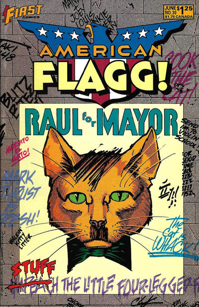 Cover for American Flagg! (First, 1983 series) #30
