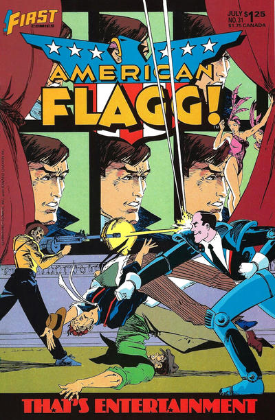 Cover for American Flagg! (First, 1983 series) #31