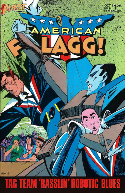 Cover for American Flagg! (First, 1983 series) #34