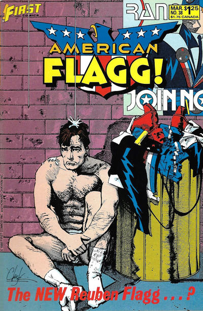 Cover for American Flagg! (First, 1983 series) #38