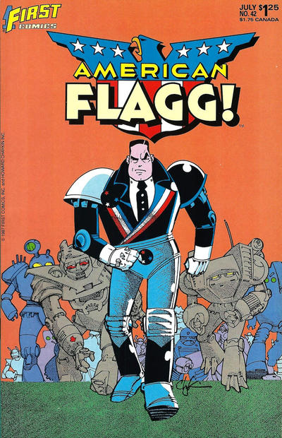 Cover for American Flagg! (First, 1983 series) #42