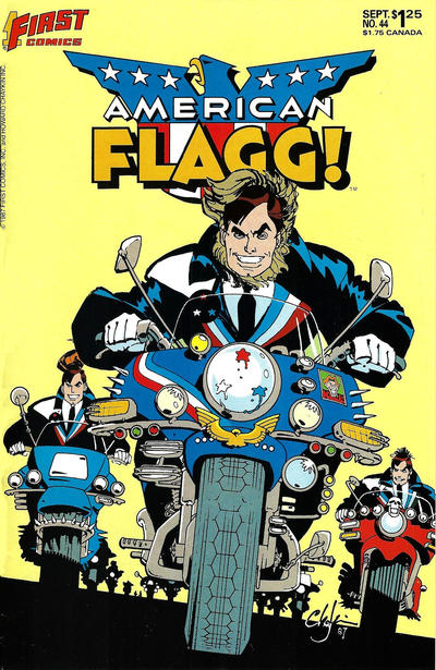 Cover for American Flagg! (First, 1983 series) #44