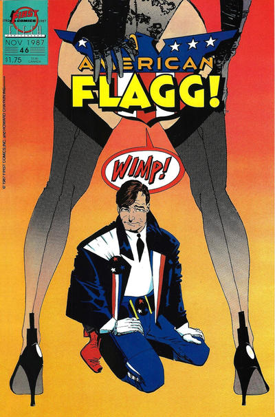 Cover for American Flagg! (First, 1983 series) #46