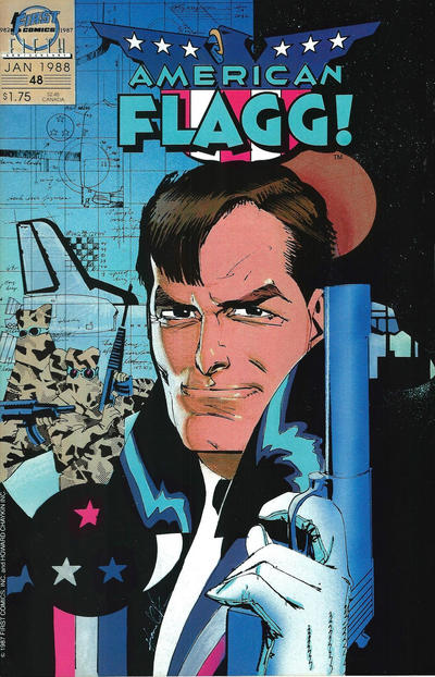 Cover for American Flagg! (First, 1983 series) #48