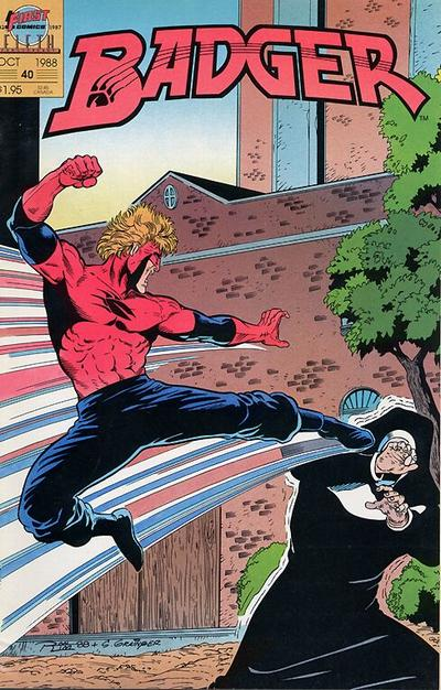 Cover for The Badger (First, 1985 series) #40