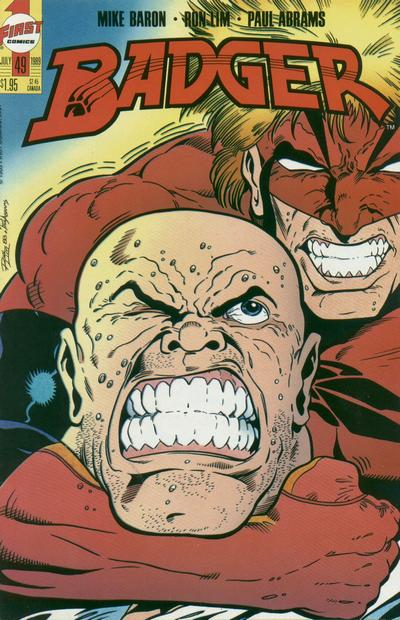 Cover for The Badger (First, 1985 series) #49