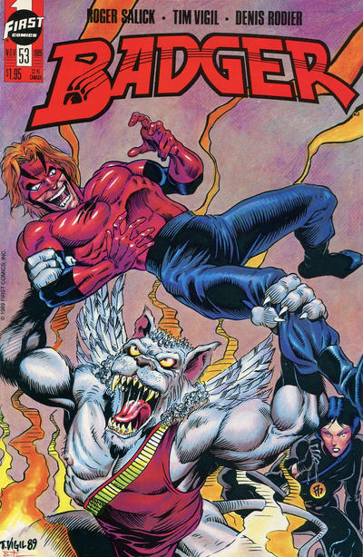 Cover for The Badger (First, 1985 series) #53