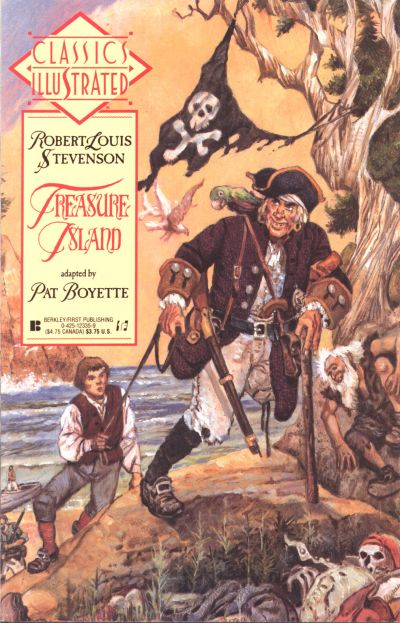 Cover for Classics Illustrated (First, 1990 series) #17 - Treasure Island