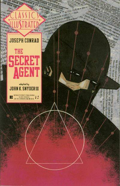 Cover for Classics Illustrated (First, 1990 series) #19 - The Secret Agent