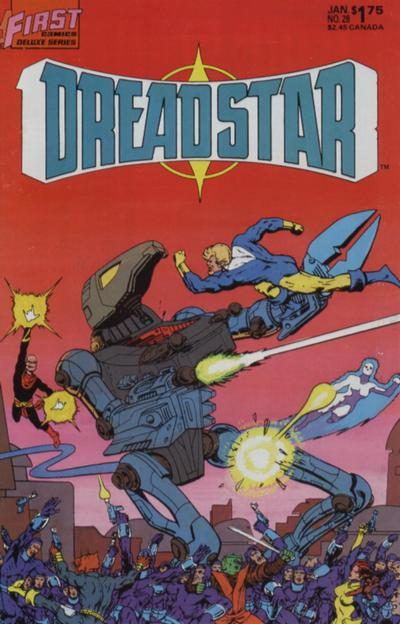 Cover for Dreadstar (First, 1986 series) #28