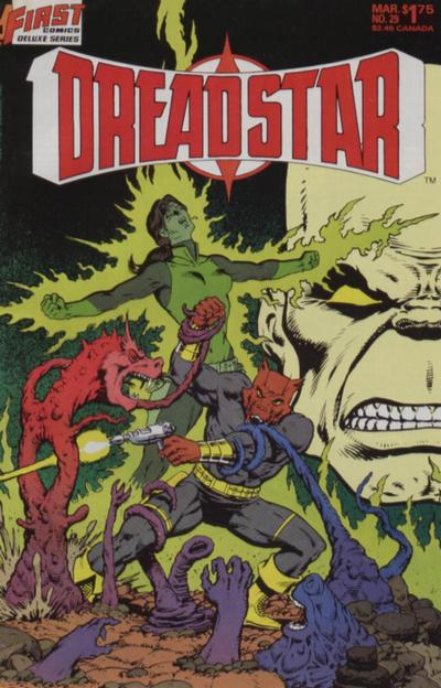 Cover for Dreadstar (First, 1986 series) #29