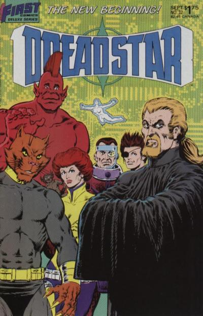 Cover for Dreadstar (First, 1986 series) #32