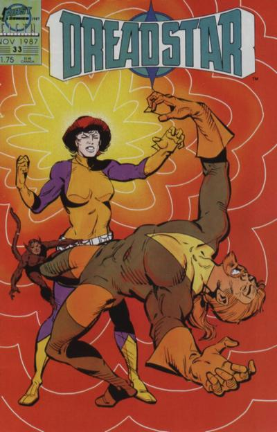 Cover for Dreadstar (First, 1986 series) #33