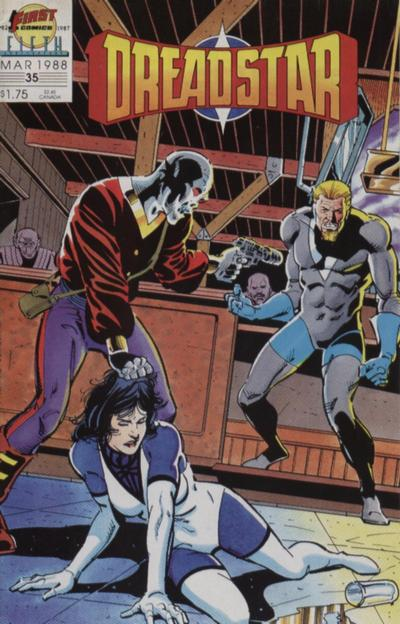 Cover for Dreadstar (First, 1986 series) #35