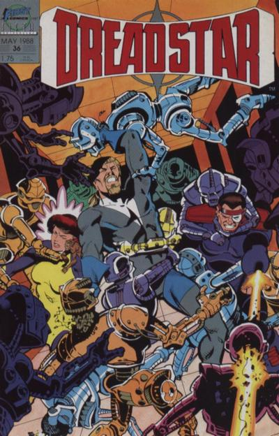 Cover for Dreadstar (First, 1986 series) #36