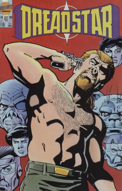 Cover for Dreadstar (First, 1986 series) #40
