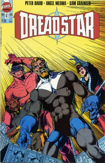 Cover for Dreadstar (First, 1986 series) #41
