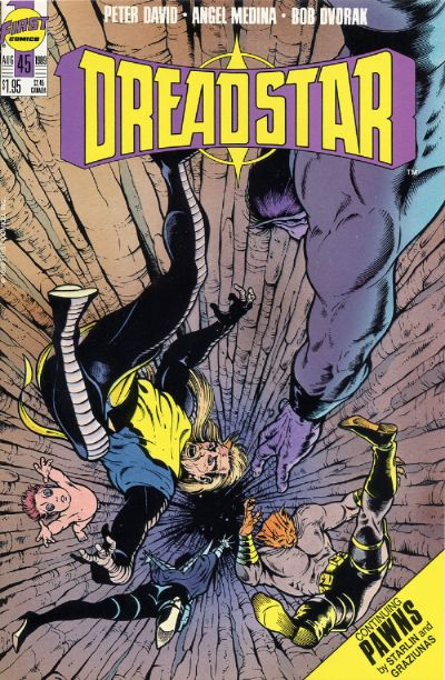 Cover for Dreadstar (First, 1986 series) #45