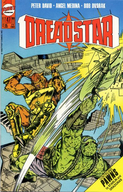 Cover for Dreadstar (First, 1986 series) #47