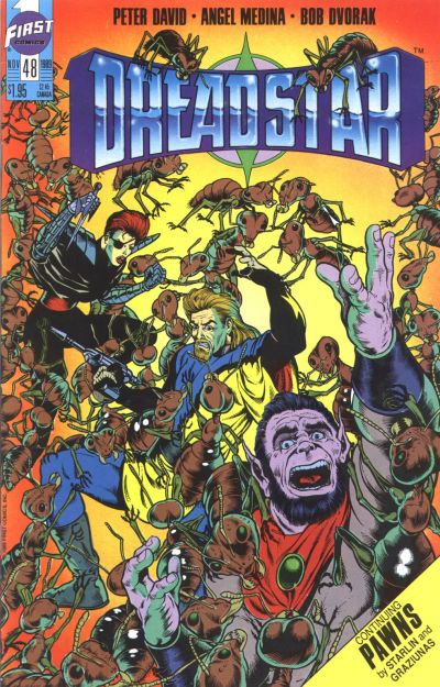 Cover for Dreadstar (First, 1986 series) #48
