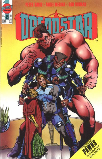 Cover for Dreadstar (First, 1986 series) #49