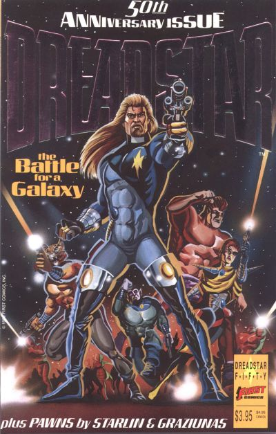 Cover for Dreadstar (First, 1986 series) #50