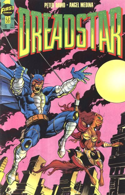 Cover for Dreadstar (First, 1986 series) #56