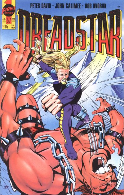 Cover for Dreadstar (First, 1986 series) #57