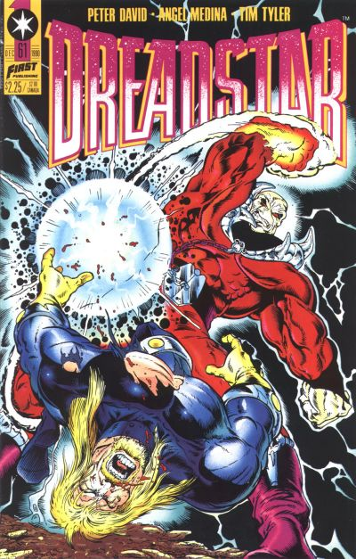 Cover for Dreadstar (First, 1986 series) #61