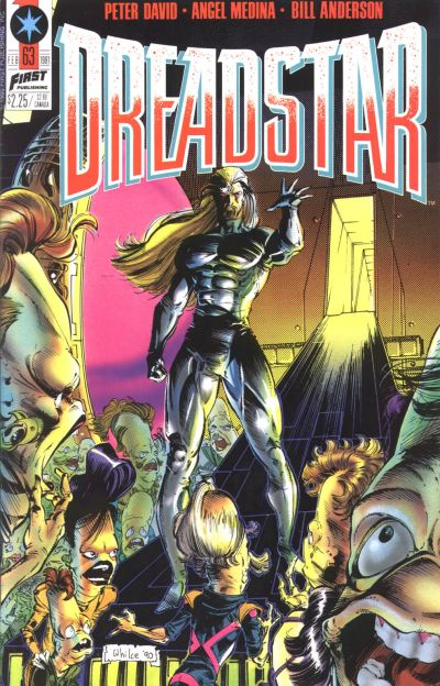 Cover for Dreadstar (First, 1986 series) #63
