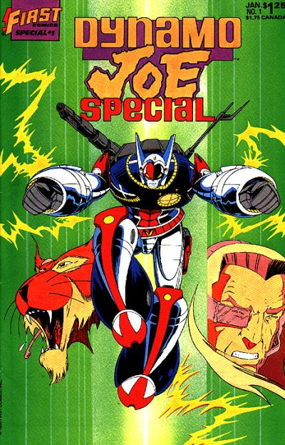 Cover for Dynamo Joe Special (First, 1987 series) #1