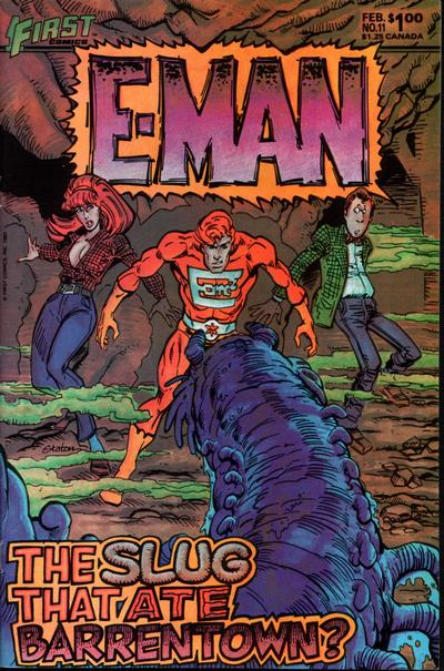 Cover for E-Man (First, 1983 series) #11