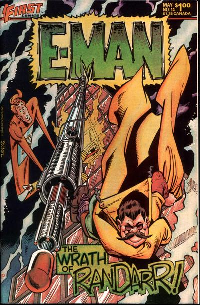 Cover for E-Man (First, 1983 series) #14
