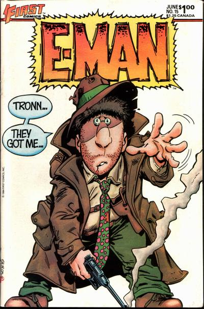 Cover for E-Man (First, 1983 series) #15