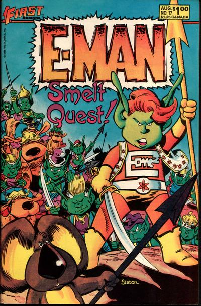 Cover for E-Man (First, 1983 series) #17