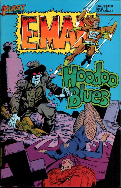 Cover for E-Man (First, 1983 series) #19