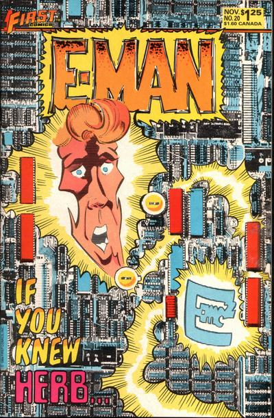 Cover for E-Man (First, 1983 series) #20