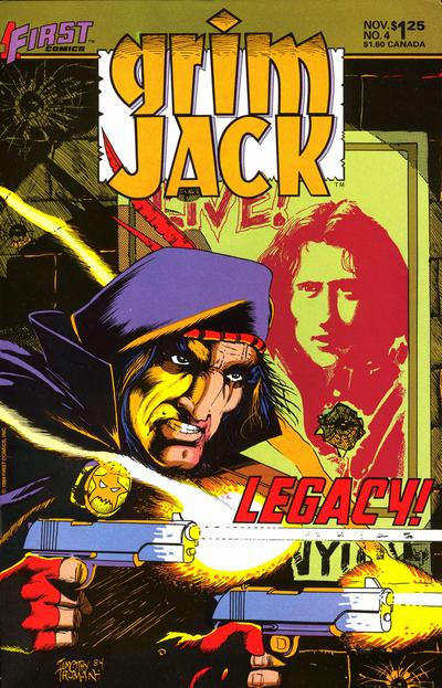 Cover for Grimjack (First, 1984 series) #4
