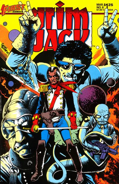 Cover for Grimjack (First, 1984 series) #8