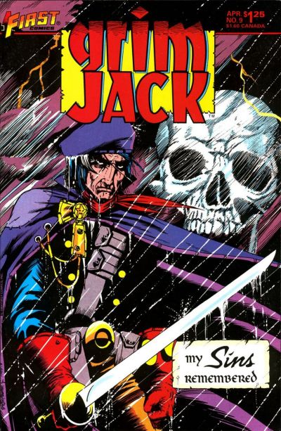 Cover for Grimjack (First, 1984 series) #9