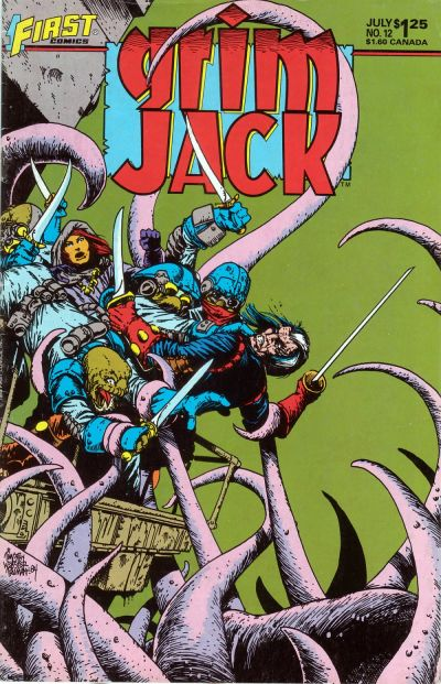 Cover for Grimjack (First, 1984 series) #12