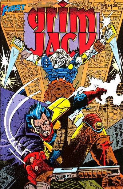 Cover for Grimjack (First, 1984 series) #20