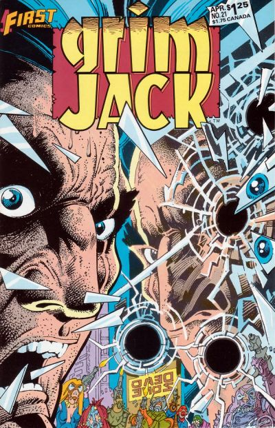 Cover for Grimjack (First, 1984 series) #21
