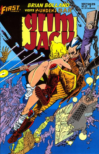 Cover for Grimjack (First, 1984 series) #22