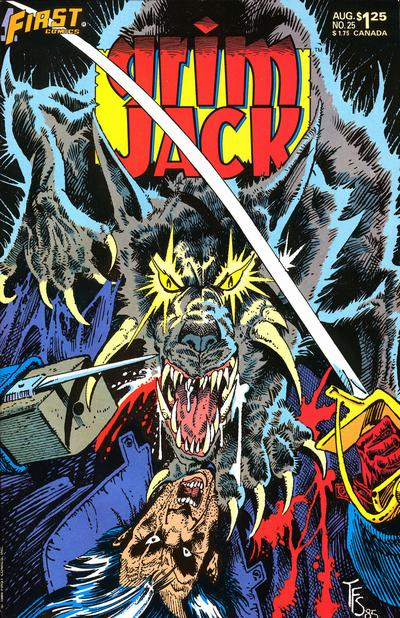 Cover for Grimjack (First, 1984 series) #25