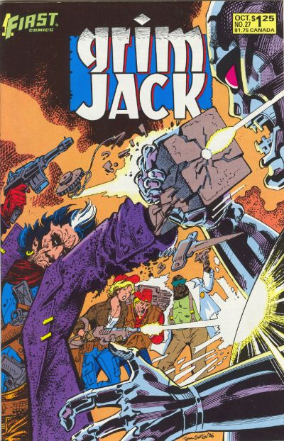 Cover for Grimjack (First, 1984 series) #27